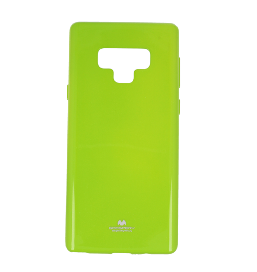 Jelly case Mercury SAMSUNG NOTE 9 lime   CASES \ Back Cases