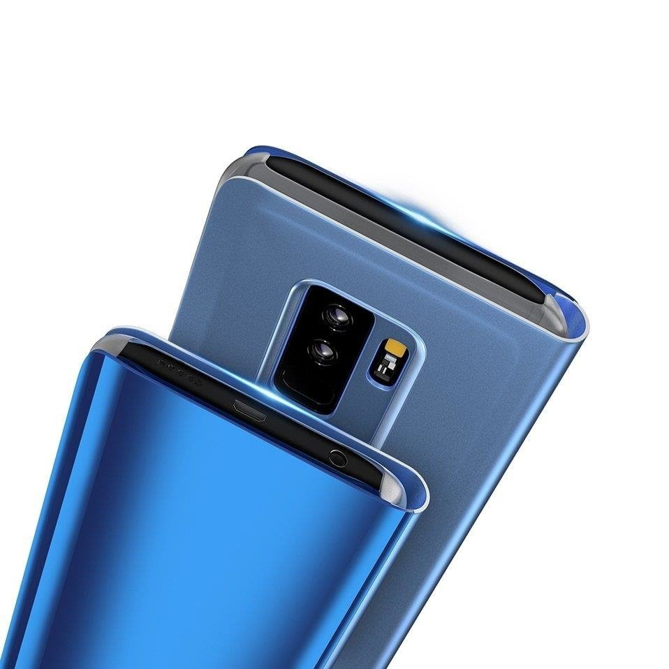 Clear View Cover case HUAWEI Y7 2019 PRIME blue | CASES