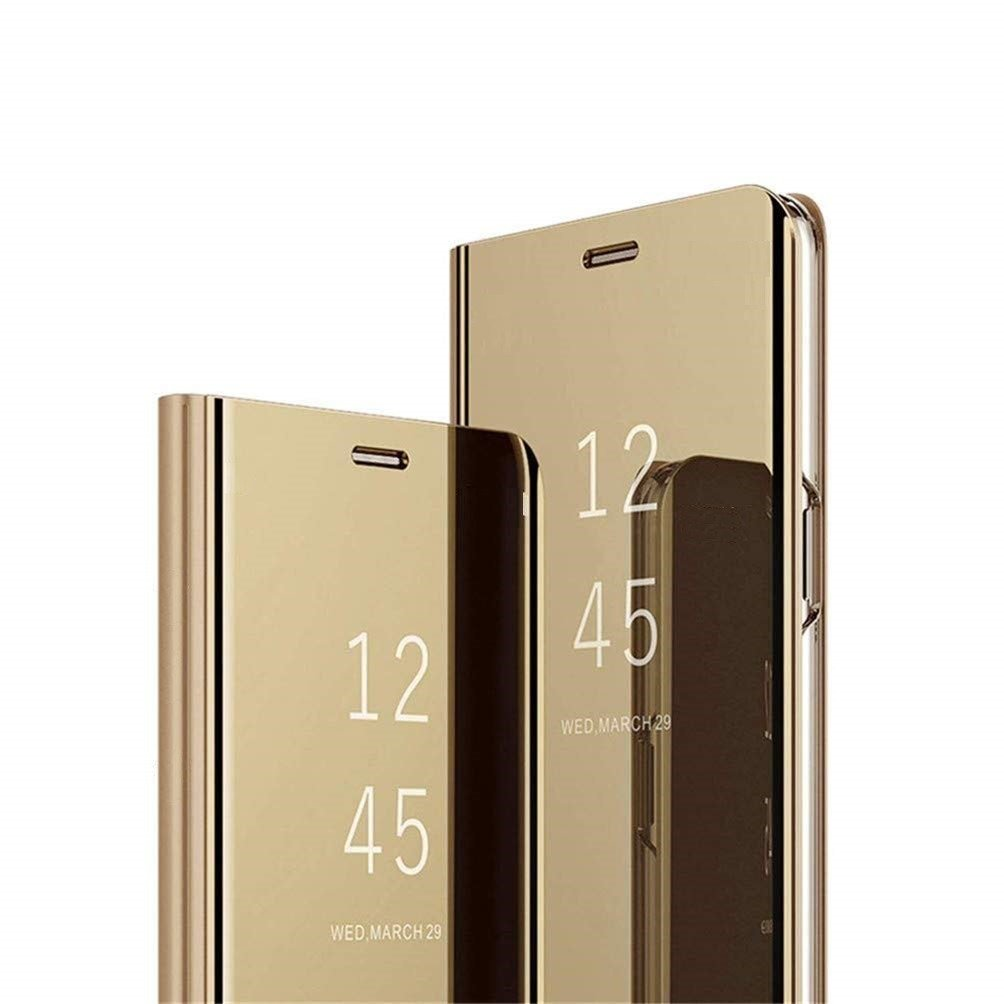 ... Clear View Cover case SAMSUNG J6 2018 gold ...