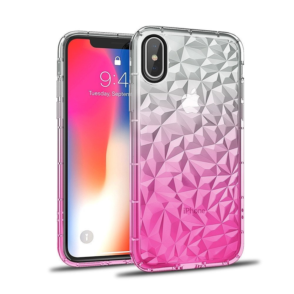 Diamond Ombre case SAMSUNG GALAXY S10 pink | CASES \ Back Cases