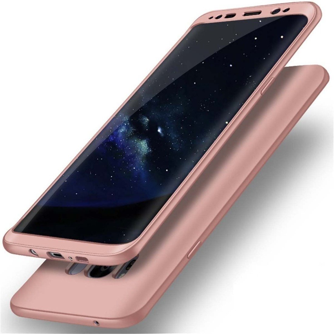 Full 360 Case SAMSUNG A7 2018 pink | CASES \ Back Cases \ Etui 360 SAMSUNG \ GALAXY A7 2018 |