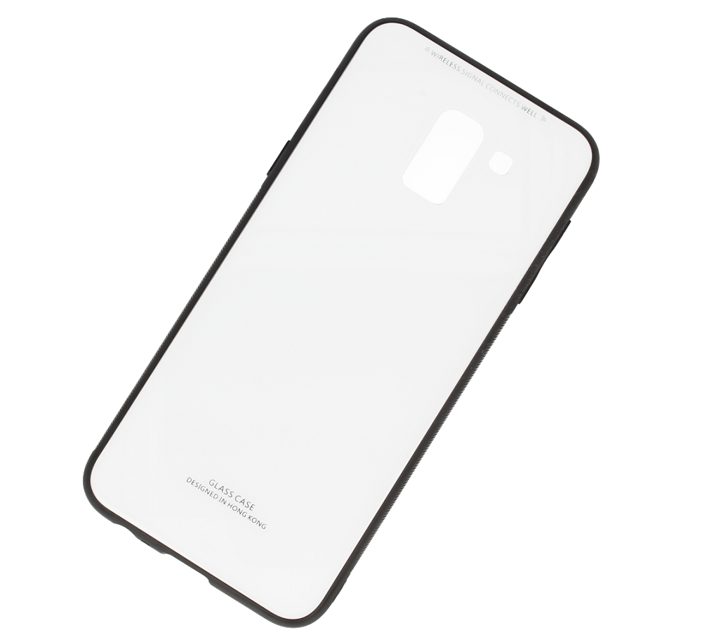 Glass Case Samsung J6 2018 White Cases Back Others Lcd J3 2016 J320 Aa