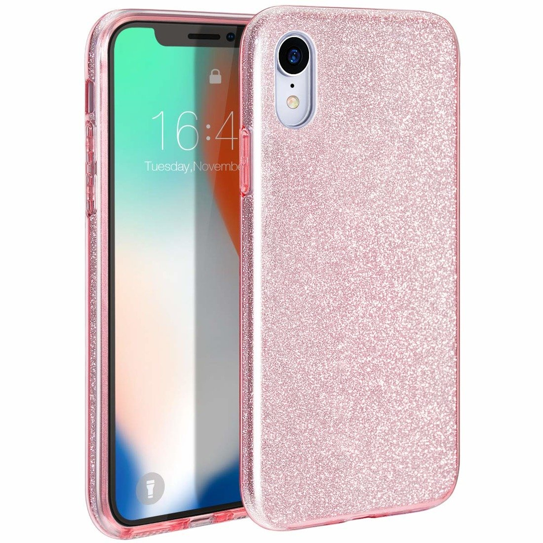 Glitter case SAMSUNG GALAXY S10 pink | CASES \ Back Cases \ Glitter