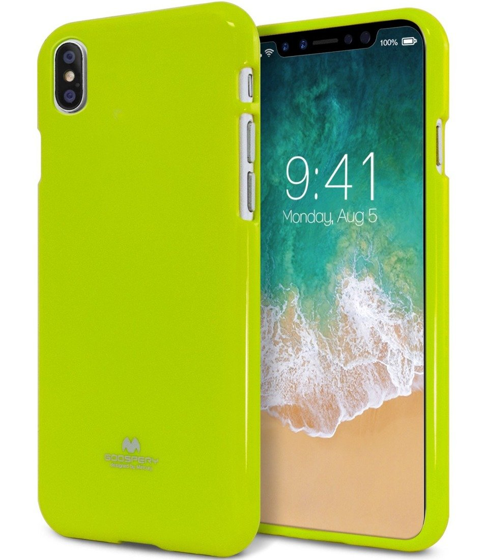 Jelly Case Mercury Iphone X Lime Cases Back Soft Goospery Samsung Galaxy J7 2017 Pro Style Lux Blue