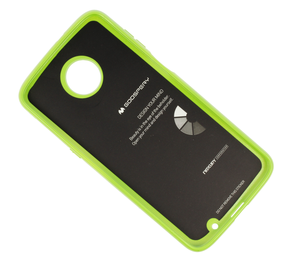 Jelly Case Mercury MOTO Z3 PLAY lime | CASES \ Back Cases \ Jelly