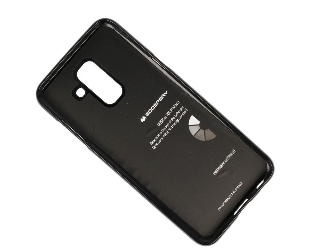 Jelly Case Mercury Samsung A6 2018 Black Cases Back Goospery Galaxy J7 2017 Pro Style Lux Blue