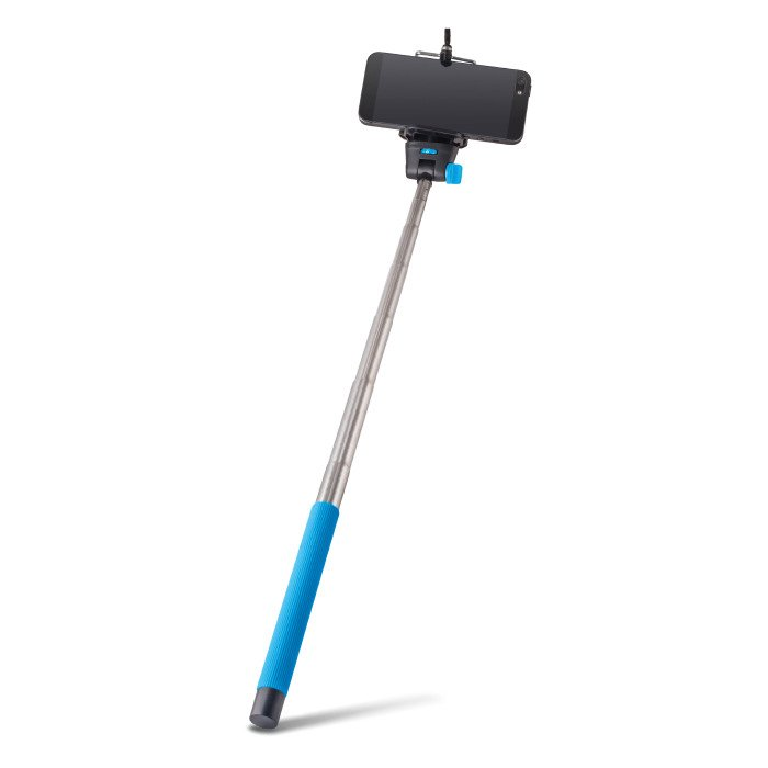 selfie stick mp 300 forever blue photo video audio selfie stick. Black Bedroom Furniture Sets. Home Design Ideas