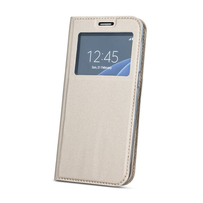 Smart look case SAMSUNG A7 2018 gold magnetic   CASES
