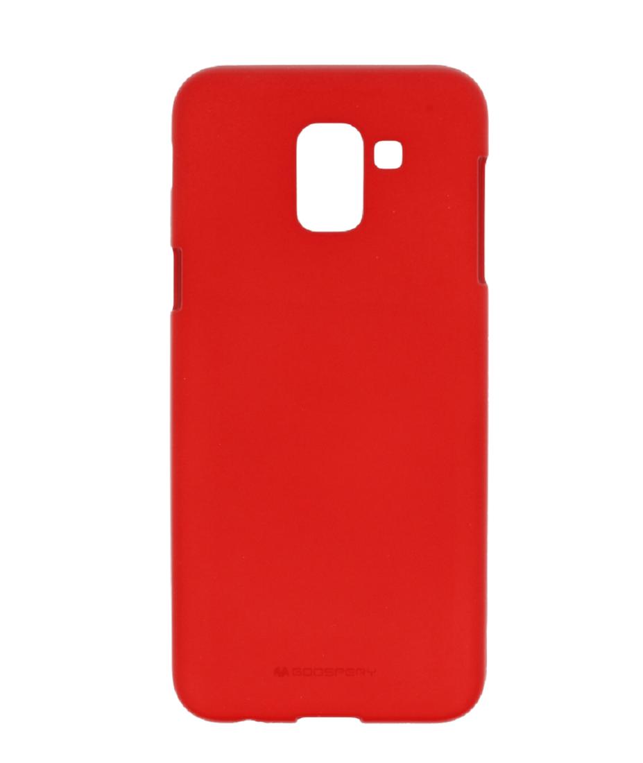 Soft Jelly Case Samsung J6 2018 Red Cases Back Goospery Galaxy J7 2017 Pro Style Lux Blue