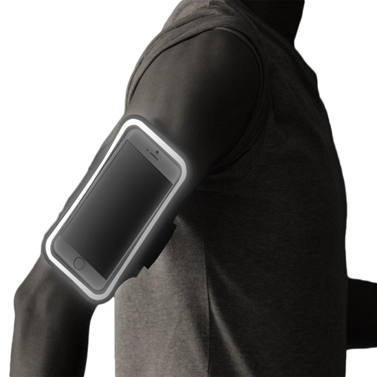 Shoulder Case for running for sports bike up to 5.5 'black