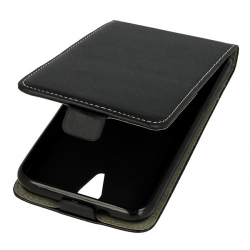 Vertical holster RUBBER CASE ZTE A510 black