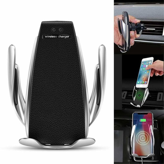 Automatic Car Holder with wireless charger S5