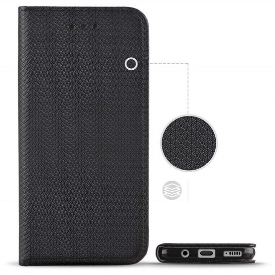 Case HUAWEI P SMART 2020 Flip Magnet black