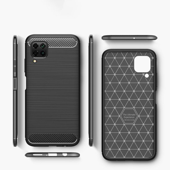 Case HUAWEI P40 LITE Armored Carbon black