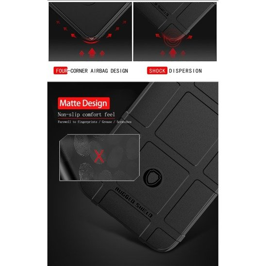 Case HUAWEI P40 LITE Armored Rugged Square black