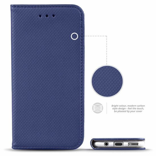 Case LG K51S / K41S Flip Magnet black navy blue