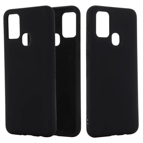 Case SAMSUNG GALAXY A21S Silicone case black