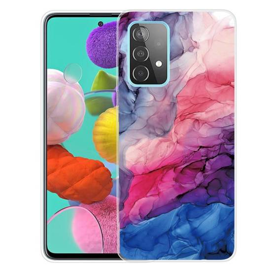 Case SAMSUNG GALAXY A52 5G / A52 4G Slim Case Art TPU Protector Marble Pattern Style O