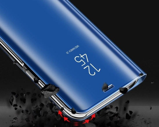 Clear View Cover case SAMSUNG GALAXY A50 blue