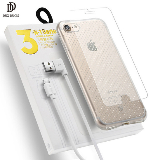 DUX DUCIS 3in1 SAMSUNG G925 S6 EDGE CASE+USB+GLASS