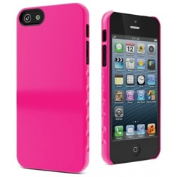 ETUI CYGNETT  Pink AeroGrip Form Snap-on Case iPhone 5 + 5S Różowy