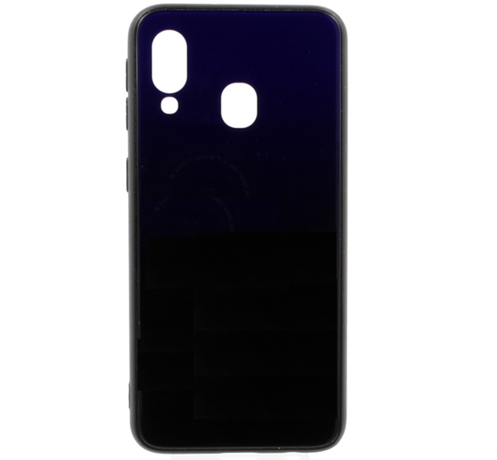 Glass case HUAWEI P SMART 2019 blue