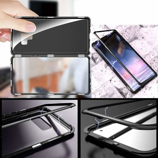 Magnetic case 360 XIAOMI REDMI 7 black