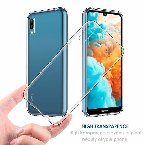 Slim case HUAWEI HONOR 8A transparent