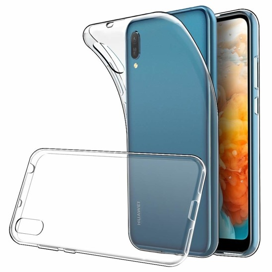 Slim case HUAWEI Y5 2019 elastic ultrathin transparent
