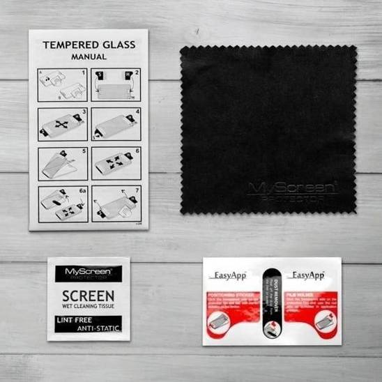 Tempered Glass SAMSUNG GALAXY NOTE 20 MyScreen Lite Edge black Full Glue