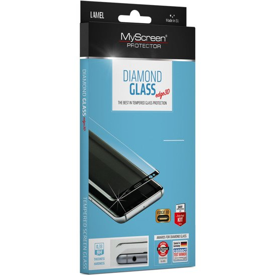 Tempered glass SAMSUNG GALAXY S20 MyScreen Diamond Glass Edge 3D black
