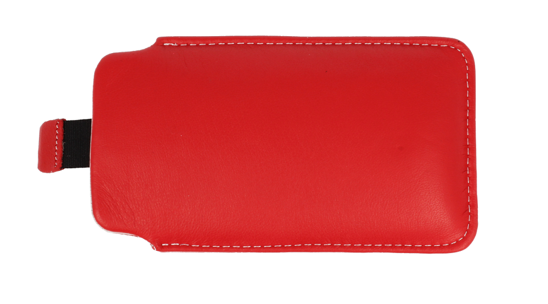 Vertical Leather bar  Vena SAMSUNG S8530/SONY XPERIA  LT22 red