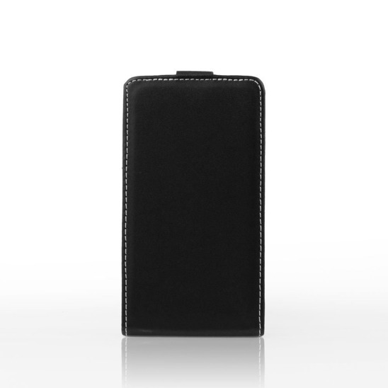 Vertical holster case Rubber HUAWEI P30 LITE black