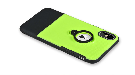 X-FITTED X-ARMOR case green IPHONE X P8ZJH