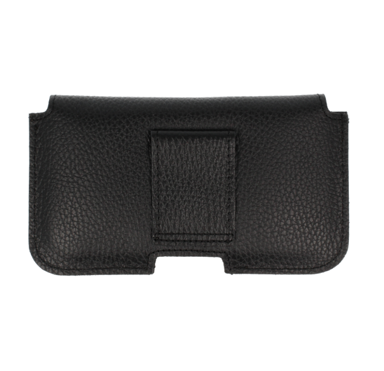 leather holster case peas SAMSUNG GALAXY A70 black