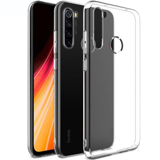 Etui XIAOMI REDMI NOTE 8 Slim Case Protect 2mm transparentne